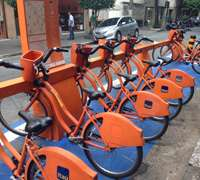 Sampa Bikes, sponsored by Itau Bank
