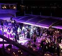 Reina Club on the banks of the Bosphorus
