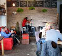 Cape Towners congregate in cool coffee shops to network and socialize