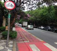 Sao Paulo, Brazil Mayor's Cycle Path