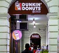 Dunkin' Donuts: Addictive quality and American cachet