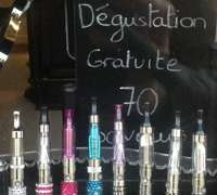 Free tastings offered at ecigarette shops in Paris