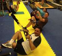 London TRX training