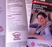 Bank financing ads appeal to empowered Mexico City females