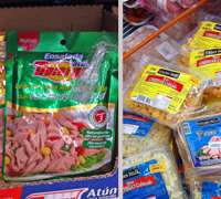 Prepackaged food on the go in Mexico City