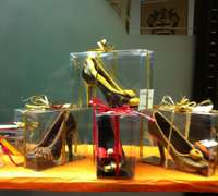 Edible holiday shoes in Milan!