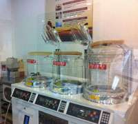 Ginseng processing facility at The Korean Ginseng Corporation