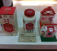 Ginseng beauty products at Seoul's Incheon Airport