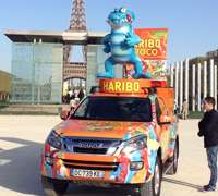 Haribo-sponsored mini-marathon for children in Paris