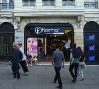 Istanbul cosmetics store, Flormar