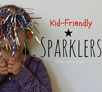 Kid Friendly Sparklers