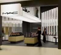 MAC minimalist concept store in Sao Paulo