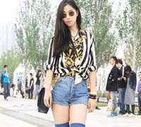 Vintage and local fashion are embraced by the Chinese youth