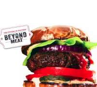 The Beyond Meat Burger - Gourmet burger iconography