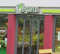 The first location in the Veganz Berlin empire in Friedrichshain