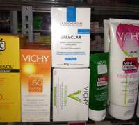Vichy products, popular with the Brazilian upper-class shoppers