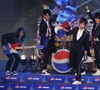 Pepsi China branded entertainment