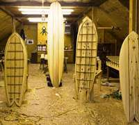 Groundswell surfboards, handmade in South Africa