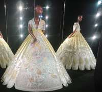 Qipaos reimagined, couture-style by Guo Pei
