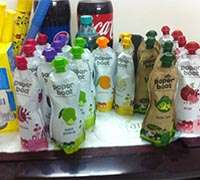 Paperboat drinks stocked at the local grocery