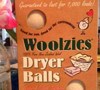 Woolzies dryer balls: an all-natural solution to dryer sheets